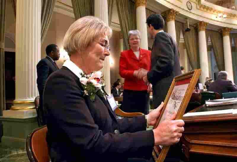 "In 2003, Theresa Sparks was selected as California's 13th Assembly District's ""Woman of the Year."""