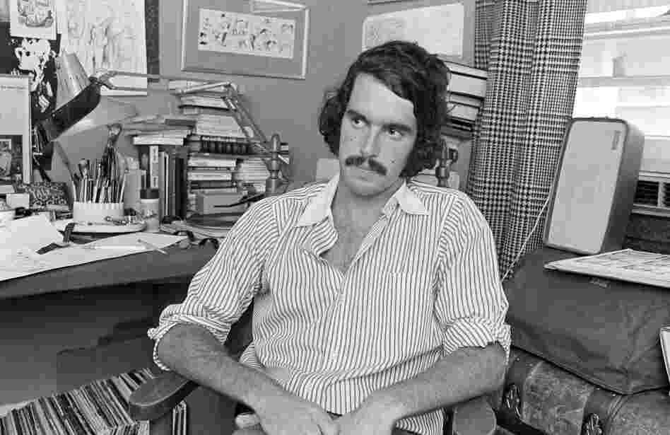Garry Trudeau at age 24.