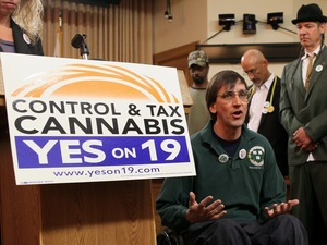 Pro-legalization activist Richard Lee
