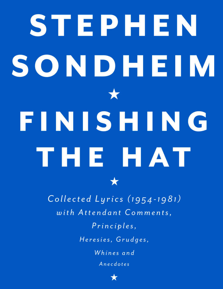 Finishing The Hat