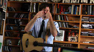 The Heligoats' Chris Otepka performs his Tiny Desk Concert.