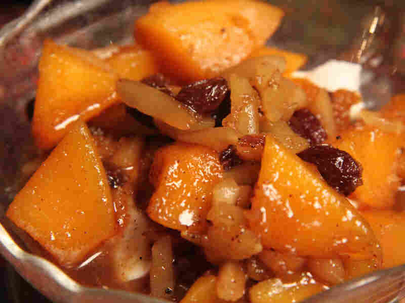 Kuri With Cumin, Raisins And Almonds
