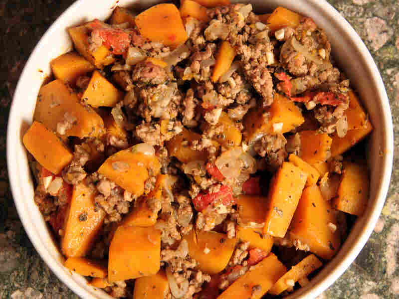 Squash Stew With Lamb