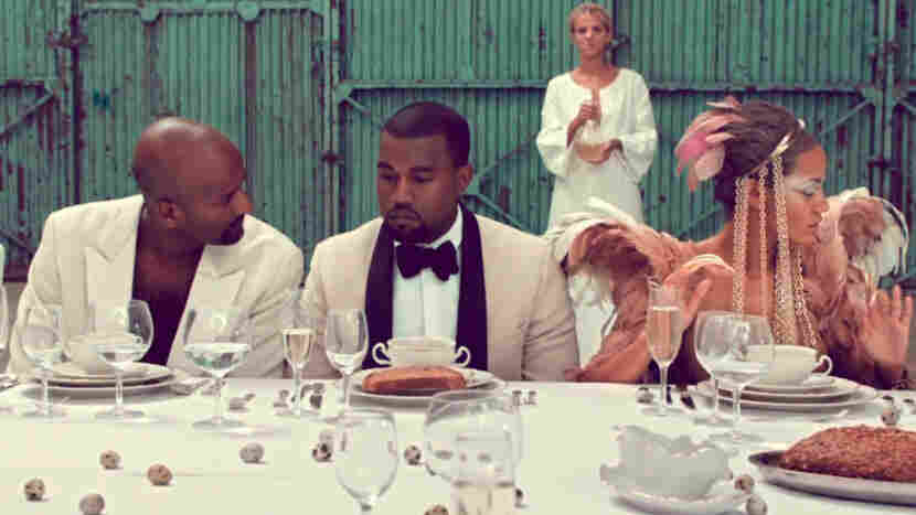 A still from Kanye West's 'Runaway'