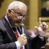 Arizona state Sen. Russell Pearce speaks during a vote on SB 1070, the immigration bill, in April.