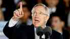 Sen. Harry Reid, D-NV, at a campaign rally in Las Vegas on Oct. 22.