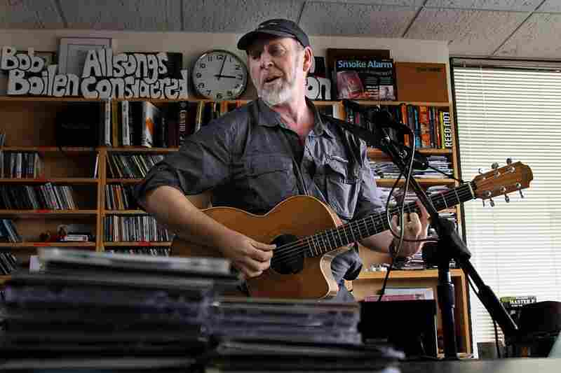 Richard Thompson sings and plays guitar from the Tiny Desk on October 19th.