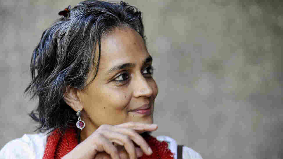 Indian booker prize-winning author and a