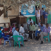 In the Somaliland capital of Hargeisa, people wave at foreigners.