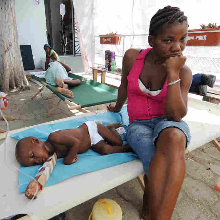 Chaos In Haiti As Cholera Patients Seek Treatment