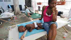 Chaos In Haiti As Cholera Patients Seek Treatment