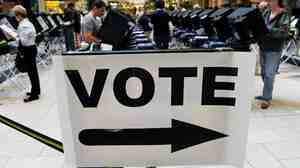 Nevadans Go To The Polls For Early Voting