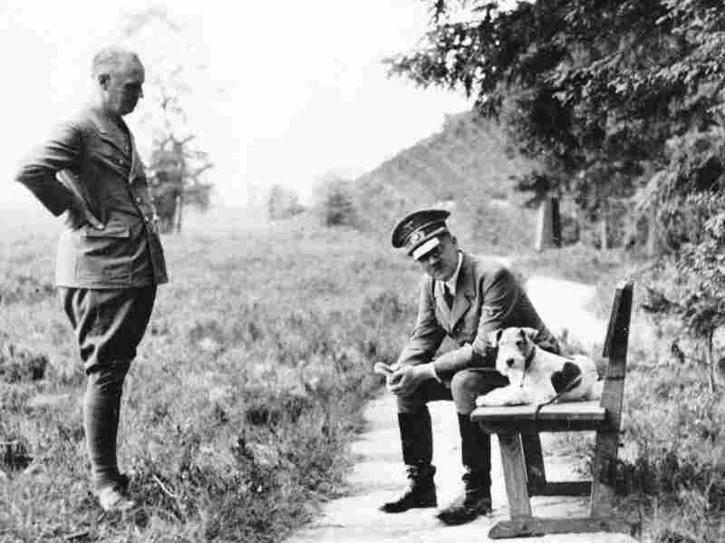 Adolf Hitler with his foreign minister Joachim von Ribbentrop in 1941.