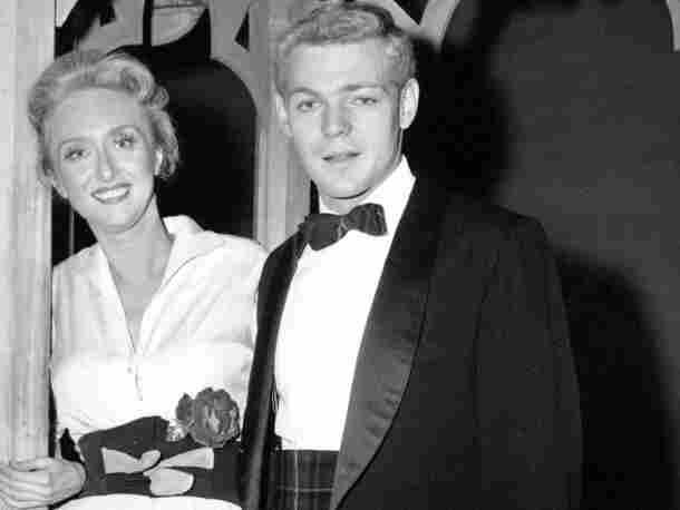 James MacArthur poses with Jane Fonda (left) and Celeste Holm.