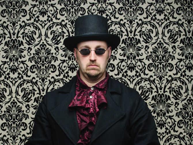 steampunk dude