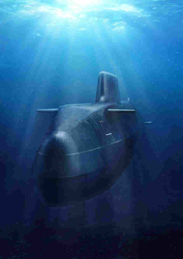 Impression Of The Royal Navy's Newest Super Submarine