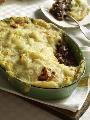 Hachis Parmentier, a French version of shepherd's pie