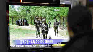 Korean Troops Exchange Fire At Border