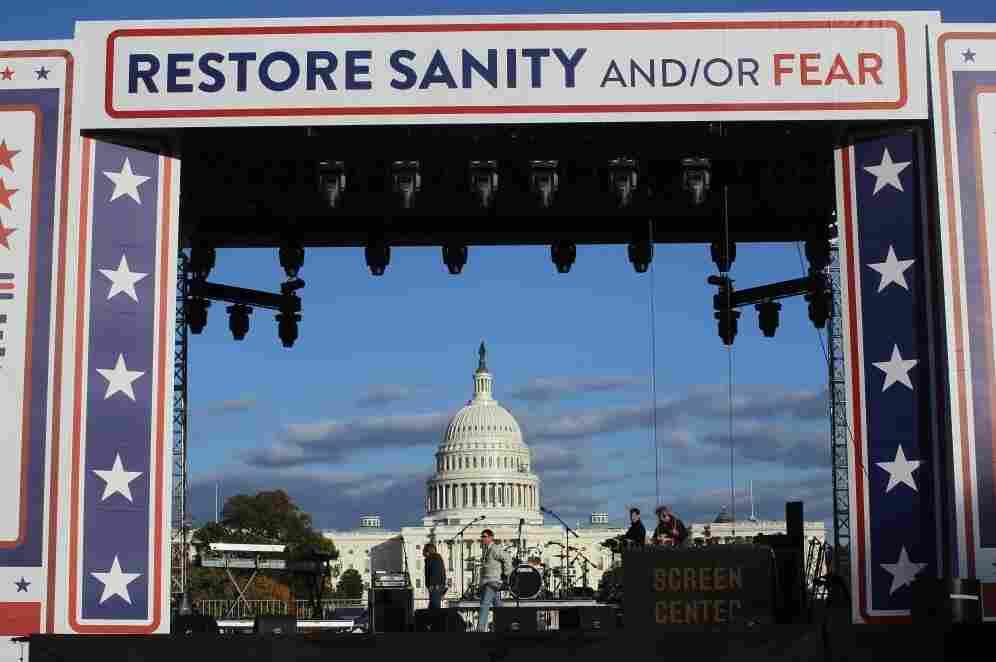 Sanity stage