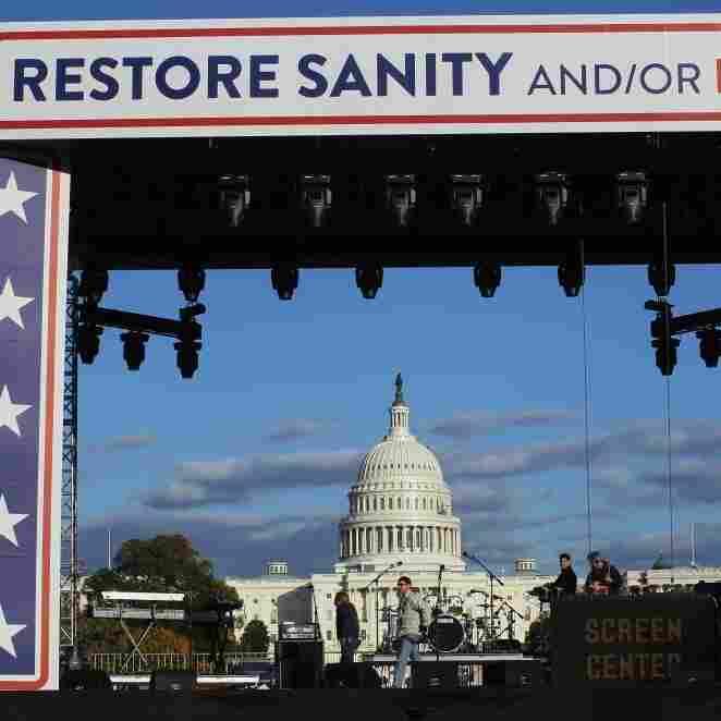Jon Stewart/Stephen Colbert Visit Their Muse -- Washington