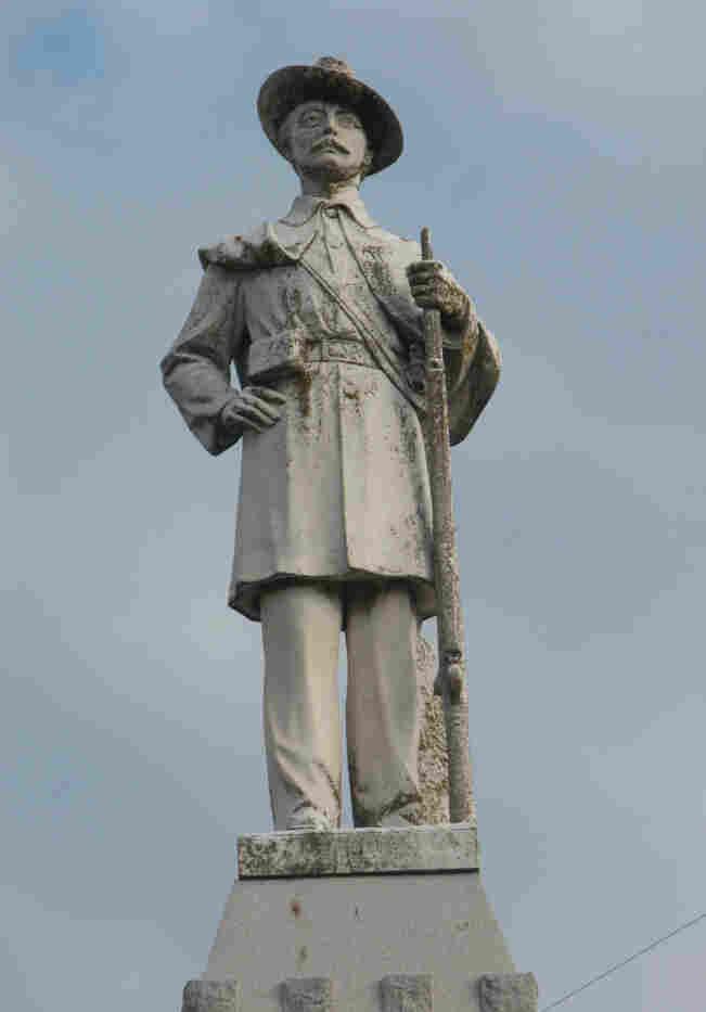 Statue of Col. John C. Burks