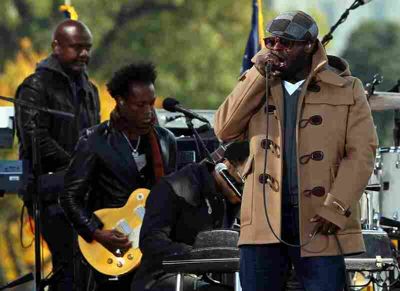 Black Thought of The Roots performed at the rally, which also included Ozzie Osbourne, Mavis Staples and even Yusuf Islam, formerly known as Cat Stevens.