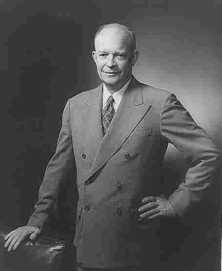 Dwight D. Eisenhower. Fabian Bachrach/Library Of Congress