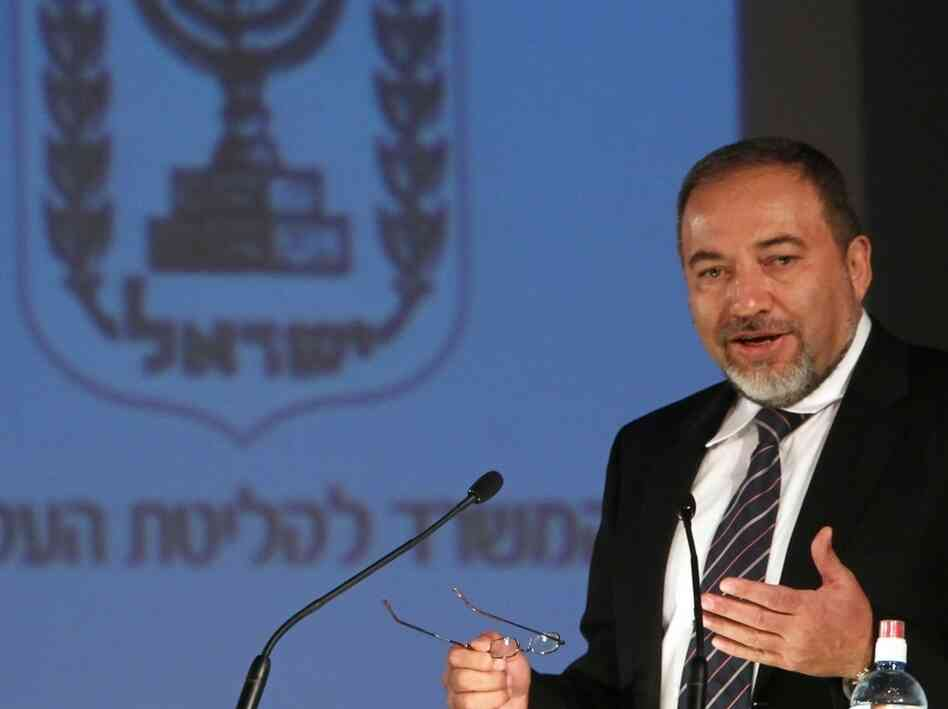 Israeli Foreign Minister Avigdor Lieberman is one of the Soviet Jewish emigres who moved to Israel.