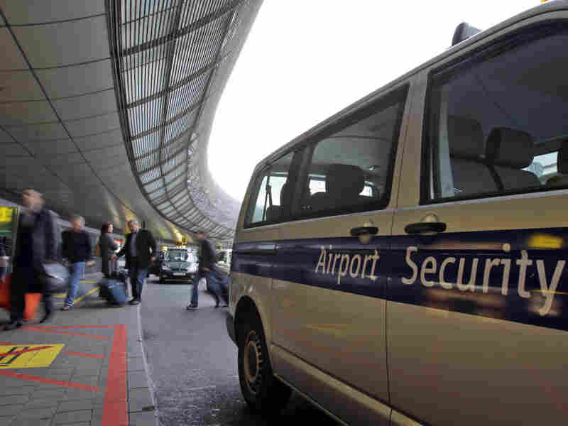 Security at airports was stepped up after the foiled bomb plot.