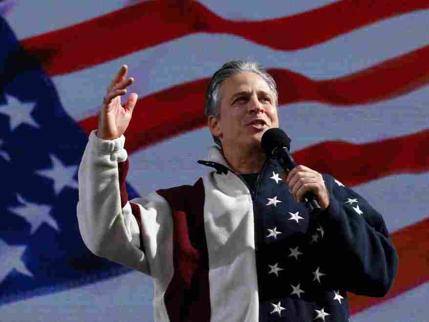 Jon Stewart. Chip Somodevilla/Getty Images
