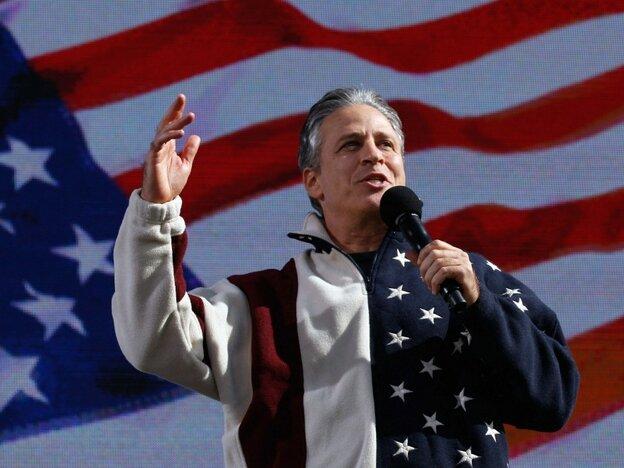 Jon Stewart. Chip Somodevilla/Getty Images