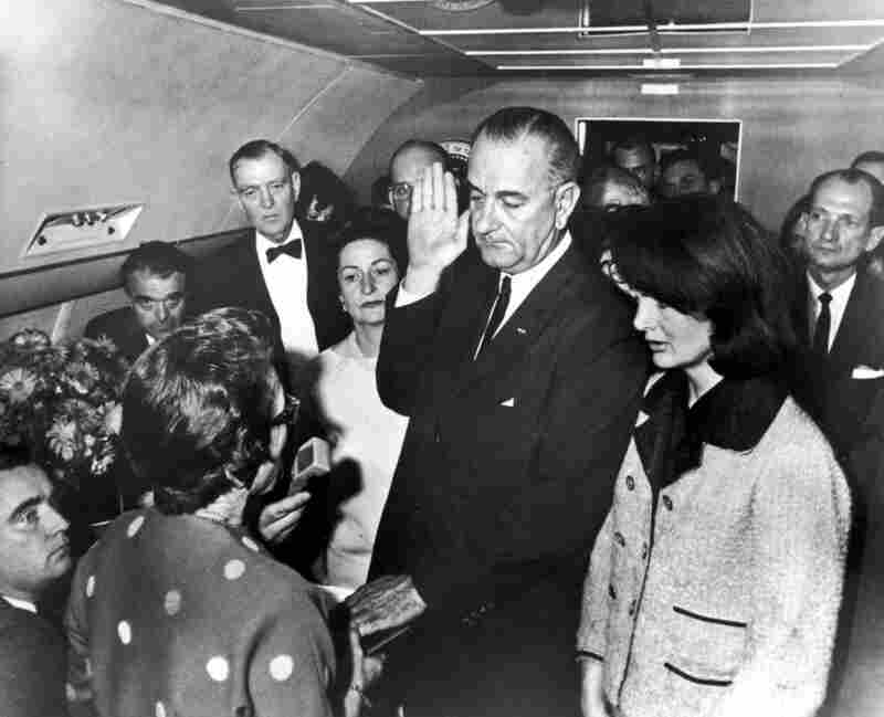 Cecil Stoughton's images of John F. Kennedy's trip to Texas show key moments in the story of his assassination. Later, Stoughton made perhaps the most famous image ever taken by a presidential photographer:  Lyndon B. Johnson being sworn in on Air Force One.