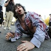 Zombies in New York's Union Square