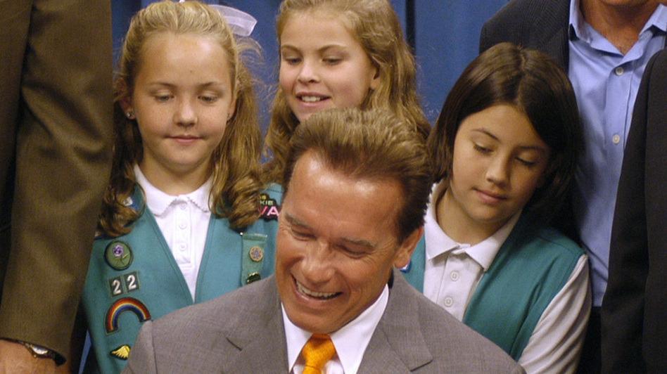 California Gov. Arnold Schwarzenegger signs AB 1179 bill restricting the sale and rental of violent video games to minors. On Tuesday, the governor will ask the Supreme Court to uphold the ban.