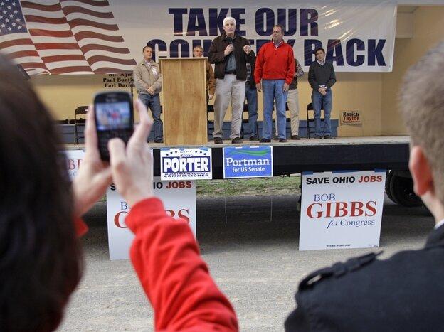 Boehner at Ohio rally
