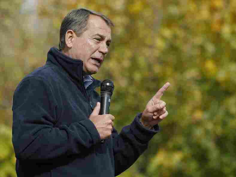 House Minority Leader John Boehner at a rally in Canton, Ohio, on Oct. 30, 2010.