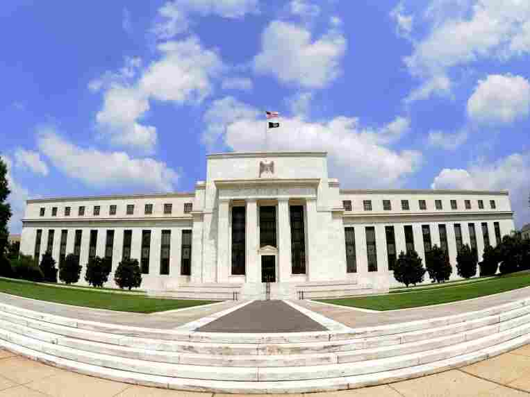 The U.S. Federal Reserve building