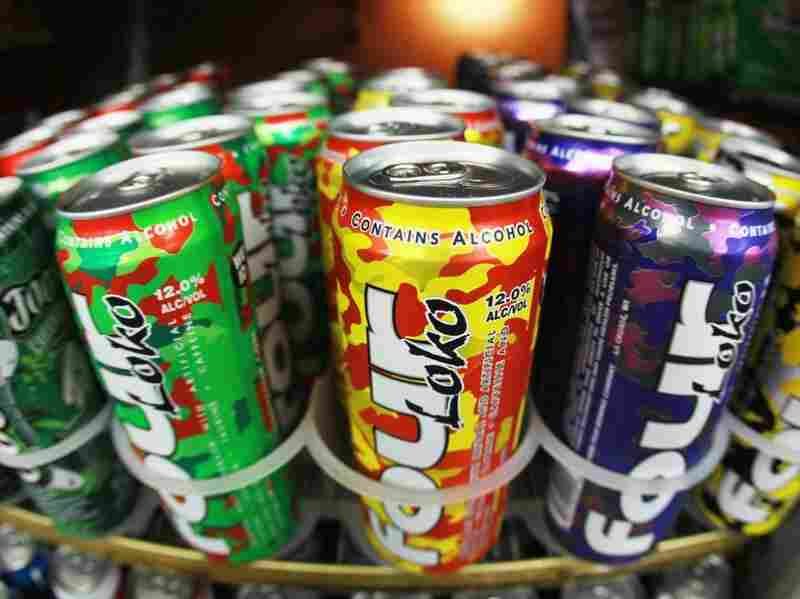 Cans of Four Loko