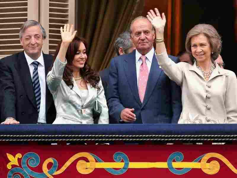 Former Argentine President Nestor Kirchner.