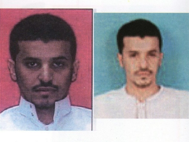 These images released by the Yemeni Interior Ministry in April 2009 show suspected Saudi bomb-maker Ibrahim Hassan al-Asiri. He has been linked to last week's plot to send explosive material to the U.S., last year's failed Christmas Day bomb attempt on a Detroit-bound plane, and the attempted assassination earlier this year of the Saudi intelligence chief.