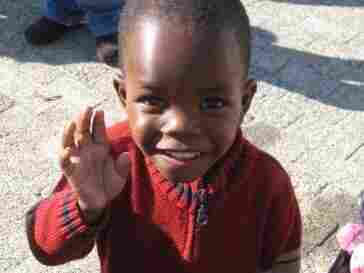 One of the children who lives at Masigcine Children's Home