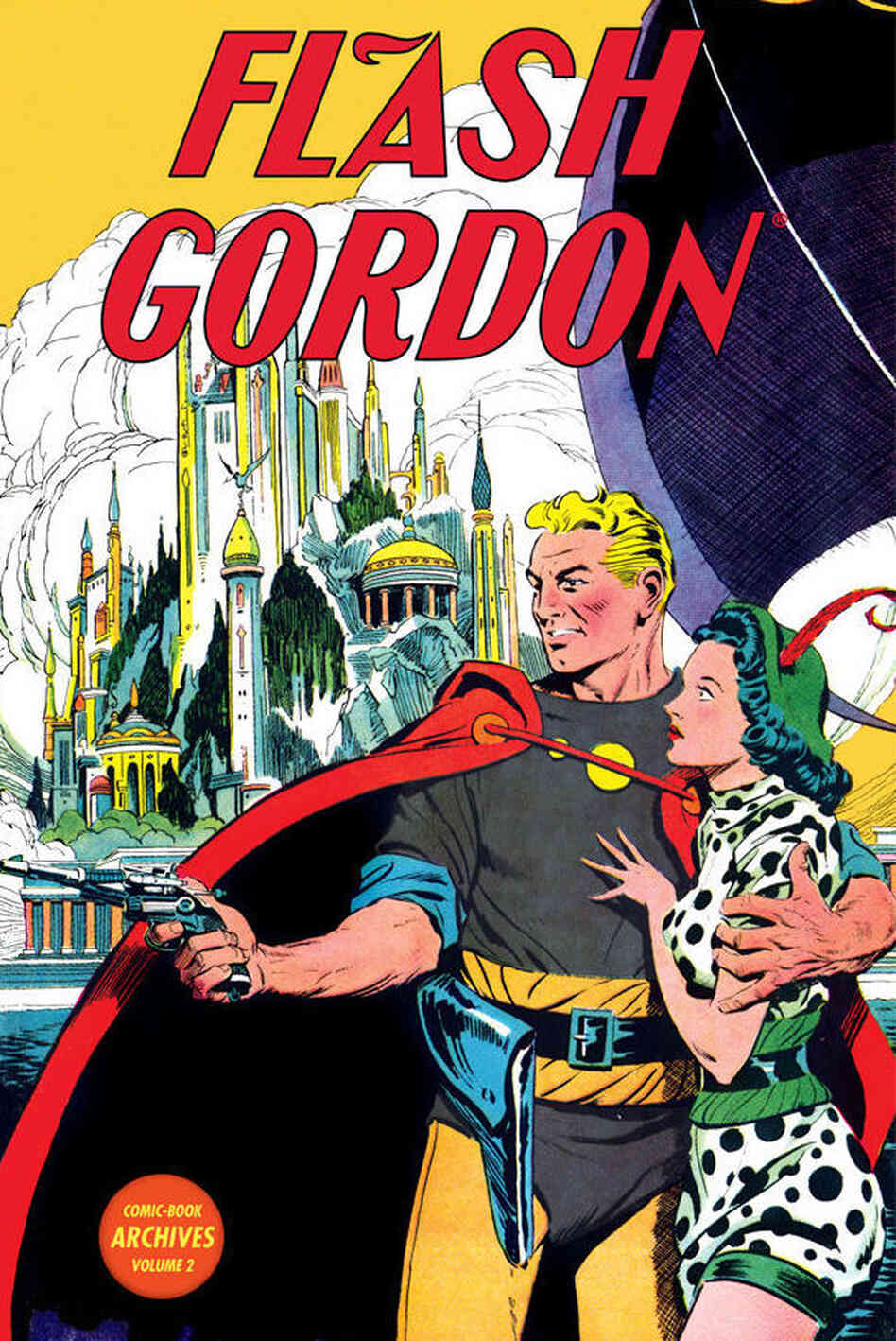 Cover of Flash Gordon Archives Volume 2