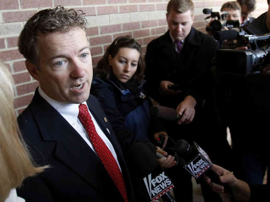 Republican Rand Paul has won his race for the Senate in Kentucky, according to reports.