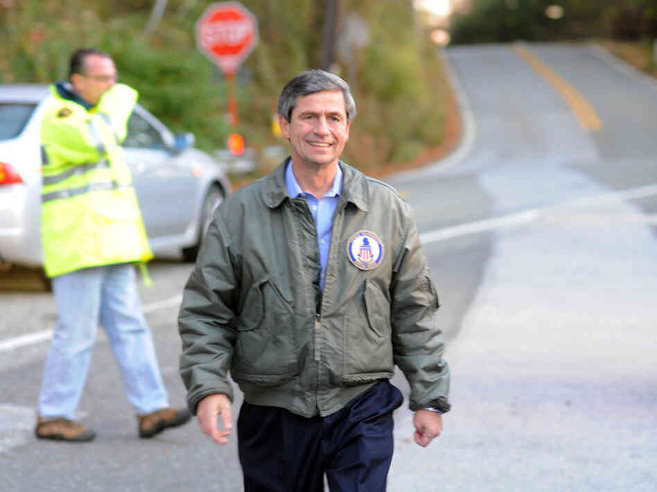 Rep. Joe Sestak, a senatorial candidate from Pennsylvania, was an admiral in the Navy.