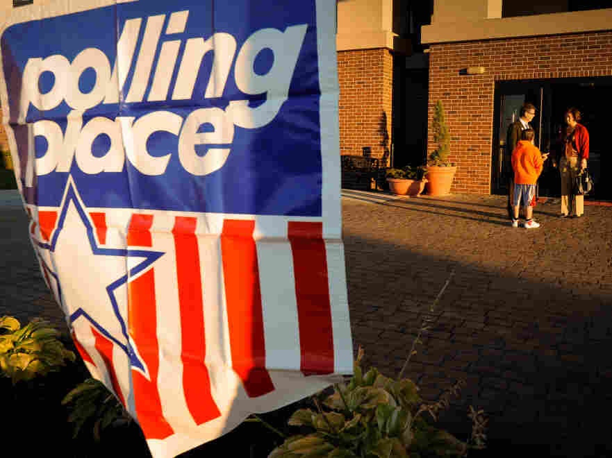 Polling Place. For anyone less familiar with the voting process, it's best to double-check data.