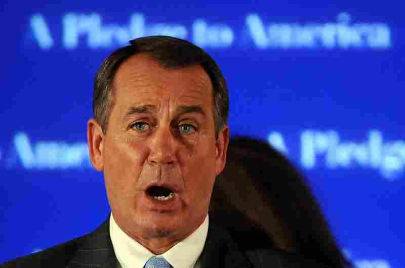 House Republican leader John Boehner