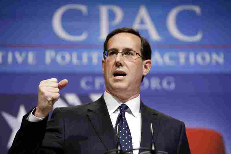 Rick Santorum, Former Pennsylvania SenatorSantorum lost his seat in 2006, but has since positioned himself as a social conservative and hardliner against terrorism.