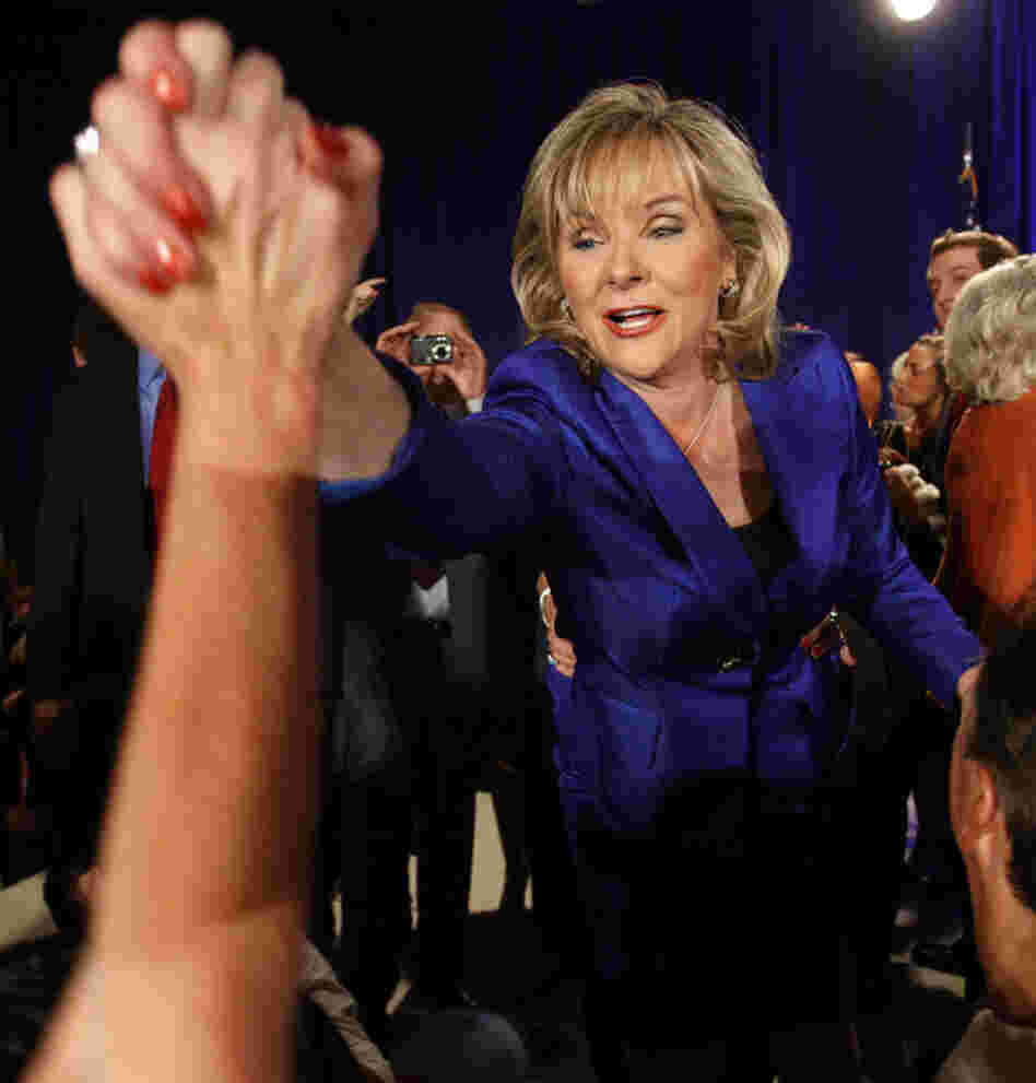 Oklahoma governor-elect Mary Fallin will become the state's first female governor.
