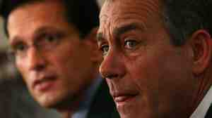 House Republican Leaders John Boehner and Eric Cantor met with reporters this morning.