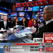 CNN coverage of the 2010 Election